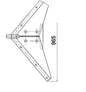 Башмак ПГК.01.120 (Плоскорез ПГН-3; ПГН-5) м=50кг