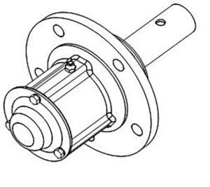 Ступица ПЛЕ.06.200Б-01 (на 3, 4, 5, 8 -корпусные плуги), м=13 кг