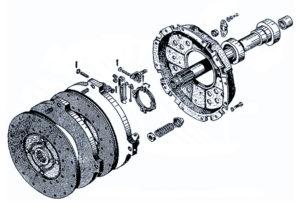 Запасные части сцепление Т-150