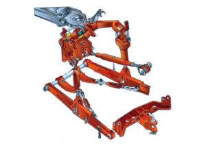Задняя навеска и привод гидронасоса МТЗ